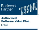 Unser IBM Business Partner Logo für Lotus