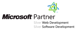 Unser Microsoft Partner Logo für Silver Web Development und Silver Software Development